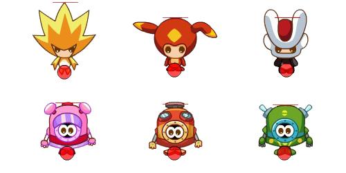 赛尔号动画形象变身麦咭小怪兽玩偶